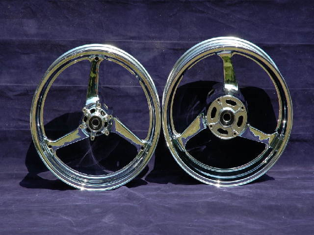 Honda Chrome Wheels