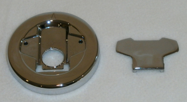 2006 - 2020 Suzuki M109R Chrome Two Piece Gas Cap Assembly
